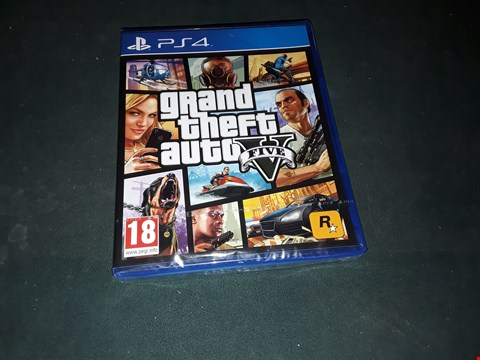 Lot 7179 BRAND NEW SONY PS4 GRAND THEFT AUTO 5 GAME  RRP £49
