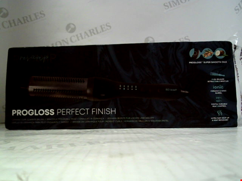 Lot 5515 REVAMP PROFESSIONAL PRO GLOSS PERFECT FINISH CERAMIC CURL & WAVES BRUSH