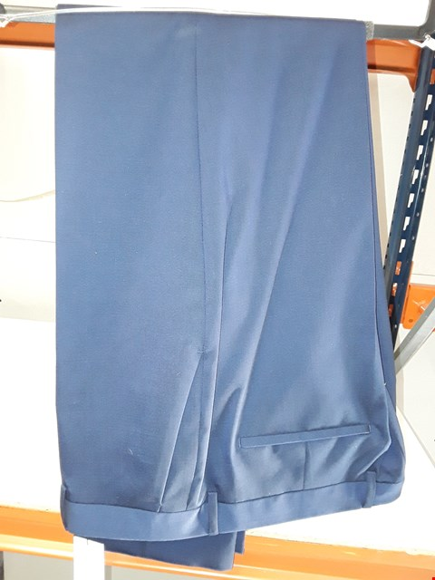 Lot 5782 BRAND NEW CALVIN KLEIN SLIM SUIT PANT IN BLUE SIZE 56