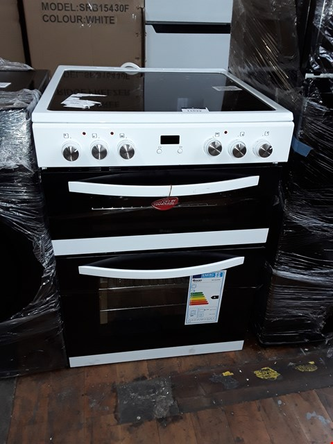 Lot 11039 SWAN SWAN SX158100W 60CM TWIN ELECTRIC COOKER WHITE