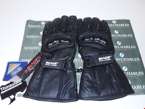 Lot 4080 BLADE SPEED & POWER MOTORCYCLE GLOVES - SIZE XL