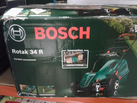 Lot 9507 BOSCH ROTAK 34 R LAWNMOWER