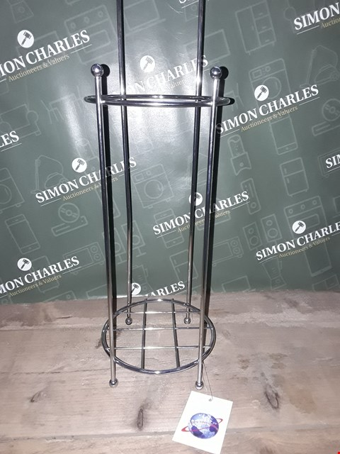 Lot 7123 DESIGNER STAINLESS STEEL TOILET PAPER HOLDER