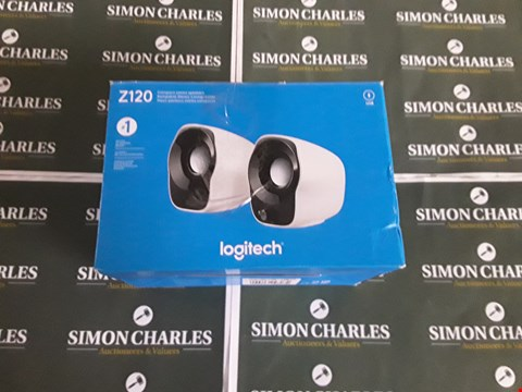 Lot 8383 LOGITECH Z120 COMPACT STEREO SPEAKERS