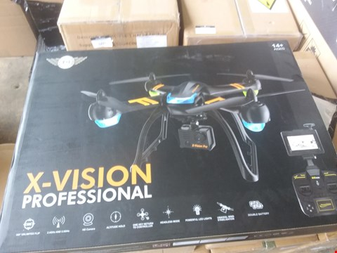 Lot 7419 X-VISION PROFESSIONAL DRONE WITH HD CAMERA