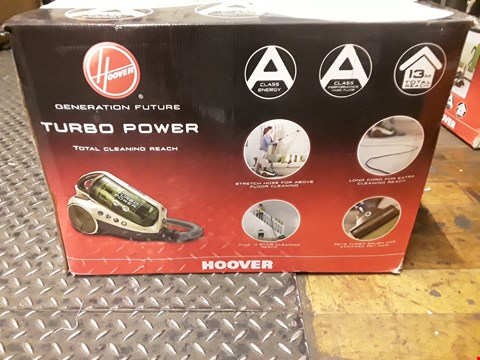 Lot 575 HOOVER TURBO POWER VACCUM CLEANER