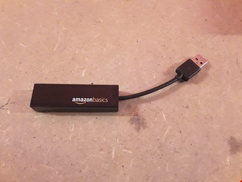 Lot 407 AMAZON BASICS USB 2.0 TO LAN NETWORK ADAPTER