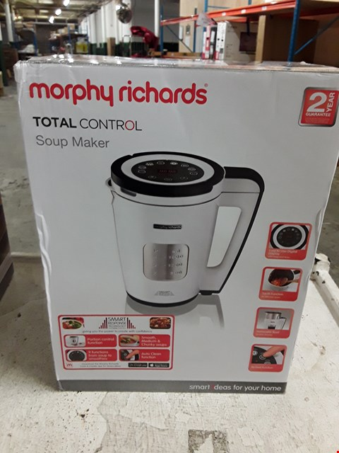 Lot 8386 MORPHY RICHARDS TOTAL CONTROL SOUP MAKER