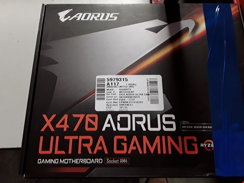 Lot 3170 GIGABYTE X470 AORUS ULTRA GAMING AM4/DDR4 MOTHERBOARD