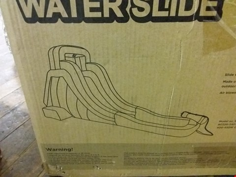 Lot 2081 MY FIRST WATER SLIDE RRP £250