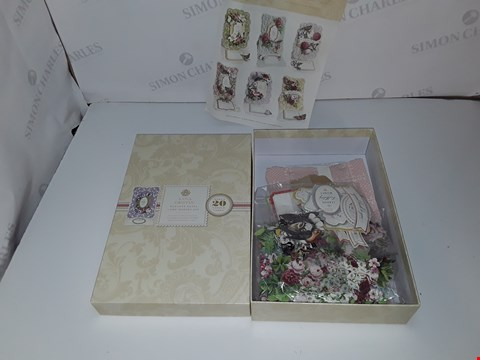 Lot 496 ANNA GRIFFIN ELEGANT EASEL CARD MAKING KIT