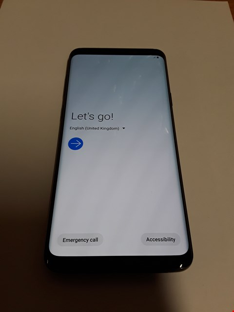 Lot 623 SAMSUNG GALAXY S9+ 128GB MOBILE PHONE - BLACK