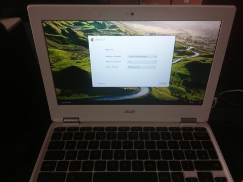 Lot 2381 ACER CHROMEBOOK 11 INTEL CELERON 2GB  RRP £259.99