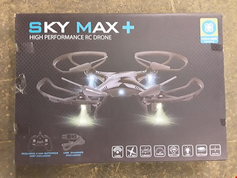 Lot 7261 BOXED SKY MAX+ HIGH PERFORMANCE DRONE