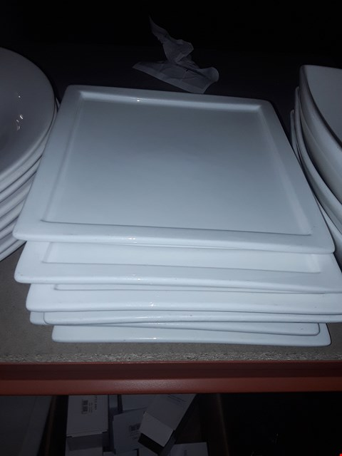 Lot 8148 LOT OF APPROXIMATELY 6 SQUARE PLATES