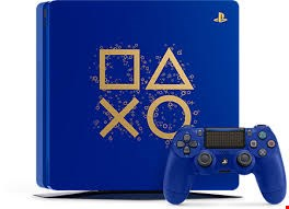 Lot 1 BOXED SONY PLAYSTATION 4 DAYS OF PLAY BLUE 500GB
