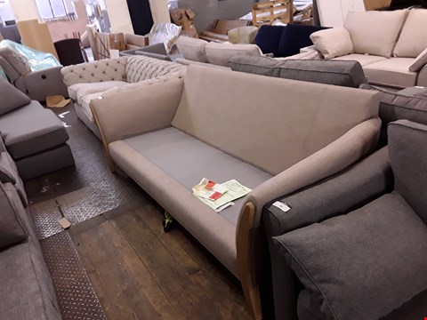 Lot 10001 QUALITY BRITISH DESIGNER HEATLEY 3 SEATER SOFA FRAME