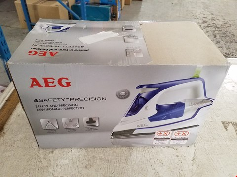 Lot 8400 AEG 4-SAFETY PRECISION CORDED IRON