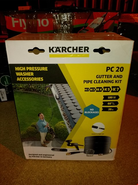 Lot 1431 KARCHER PC 20 GUTTER AND PIPE CLEANING KIT