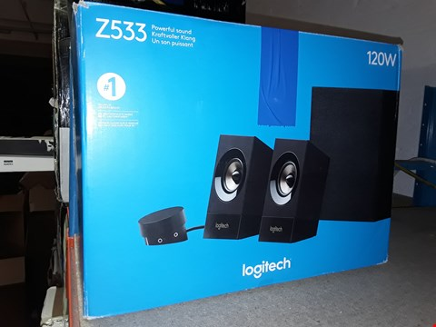 Lot 12454 LOGITECH Z533 120W SPEAKERS