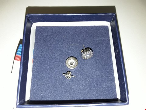 Lot 2156 TOMMY HILFIGER STAINLESS STEEL EARRINGS  RRP £39.00