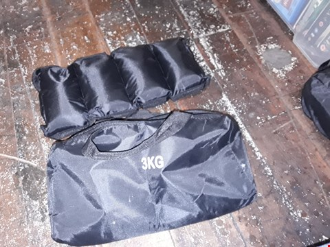 Lot 1869 2 EXERCISE WEIGHT POUCHES/BAGS