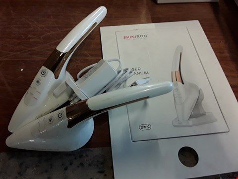 Lot 1016 TWO UNBOXED SKIN IRONS & CHARGER