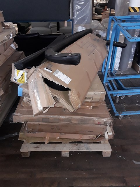 Lot 2106 PALLET OF ASSORTED FLAT PACK BED PARTS