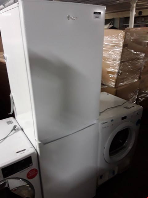 Lot 10047 SWAN SR8160W WHITE 50/50 FRIDGE FREEZER RRP £199.99