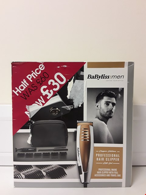 Lot 6435 BOXED BABYLISS HAIR CLIPPER