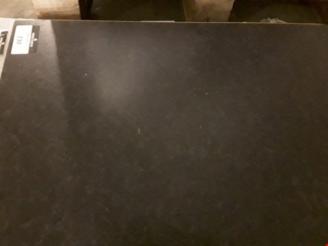 Lot 230 MIDNIGHT GRANITE ROUND EDGE LAMINATE KITCHEN WORKTOP - MEASURES APPROXIMATELY 3600X600X38MM