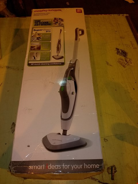 Lot 5627 MORPHY RICHARDS 720520 DUAL TANK STEAM CLEANER