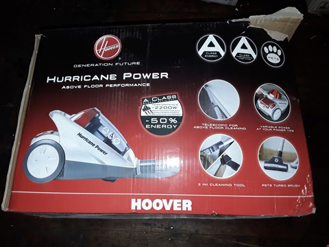 Lot 9400 BOXED HOOVER POWER 2200W VACUUM CLEANER