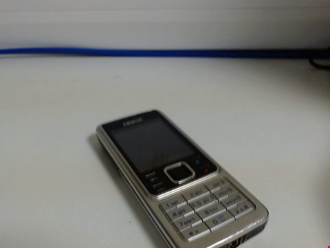 Lot 6574 NOKIA 6300 MOBILE PHONE CAPACITY UNKNOWN