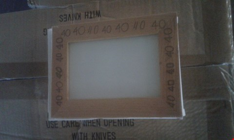 Lot 4012 APPROXIMATELY 60 WOOD FRAME (2 BOXES)