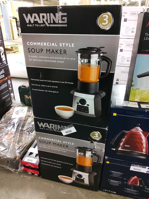 Lot 9031 BOXED WARING COMMERCIAL STYLE SOUP MAKER