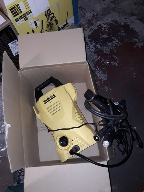 Lot 12534 KARCHER K2 COMPACT PRESSURE WASHER