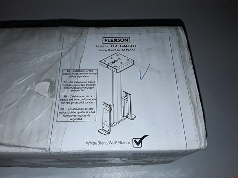 Lot 54 BOXED FLEXSON FLXP1CM2011 CEILING MOUNT FOR X2:PLAY 1