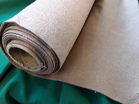 Lot 2069 ROLL OF FAUX LEATHER FIRE RETARDANT MATERIAL APPROXIMATELY 140cm × SIZE UNSPECIFIED