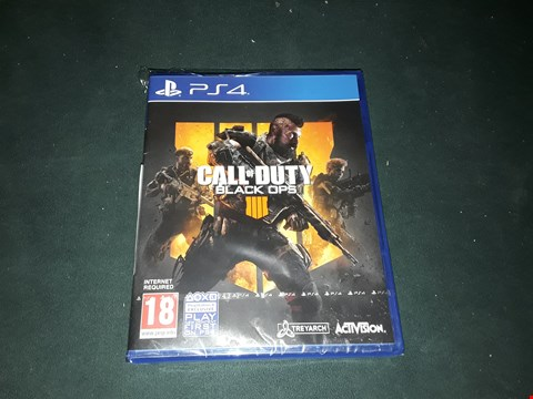 Lot 2284 CALL OF DUTY BLACK OPS IV FOR PS4 RRP £55