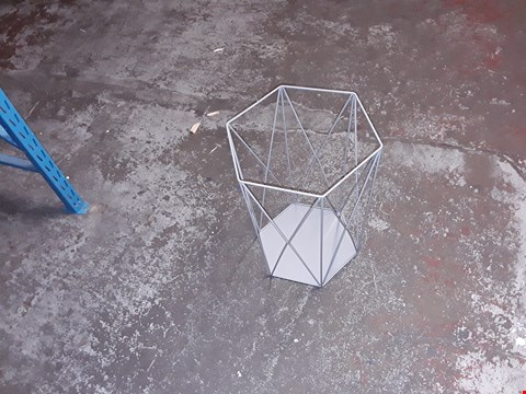 Lot 7 GRADE 1 BOXED WIRE STORAGE BASKET TABLE RRP £42.99