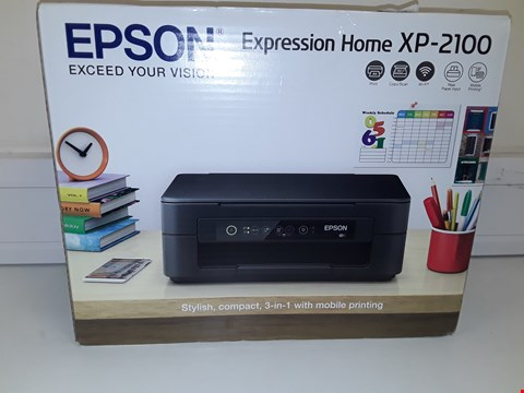 Lot 126 EPSON EXPRESSION HOME XP-2100 PRINTER