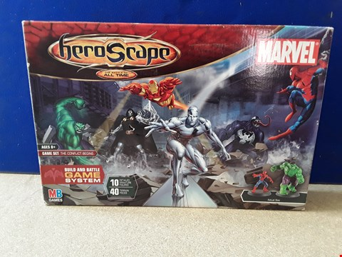 Lot 5088 BOXED MARVEL HERO SCAPE GAME SET