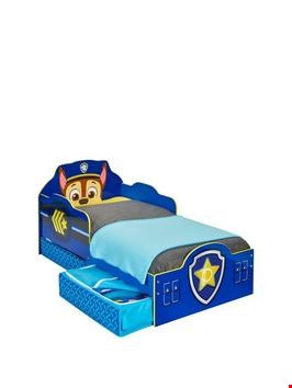 Lot 2089 PAW PATROL SKYE TODDLER BED (1 BOX) RRP £189.99