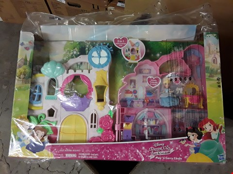 Lot 204 TWO GRADE 1 TOYS, HAUCK 3 IN 1 DOLL PLAYSET & CASTLE 2 IN 1 STORAGE CAGE RRP £76