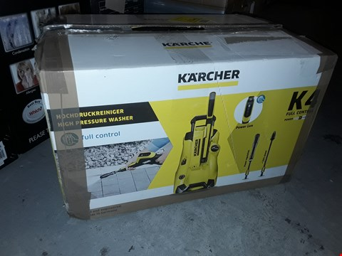 Lot 5207 KARCHER K4 FULL CONTROL JET WASHER
