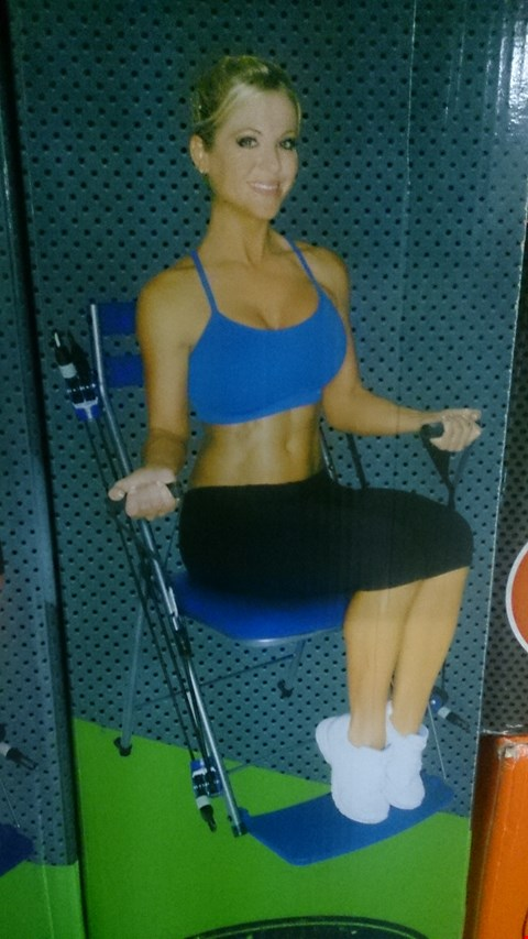 Lot 1062 BOXED NEW IMAGE CHAIR GYM RRP £39.99