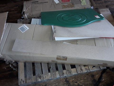Lot 798 PALLET OF ASSORTED FLAT PACK FURNITURE PARTS