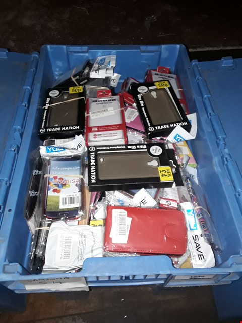 Lot 1646 BOX OF ASSORTED BRAND NEW SAMSUNG S4 CASES