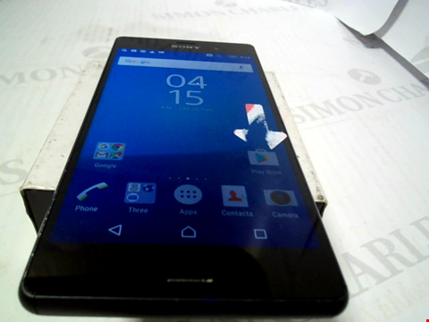 Lot 6099 SONY XPERIA Z3 16GB ANDROID SMARTPHONE